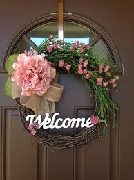 spring wreaths for front door everyday wreath spring wreath hydrangea wreath miniature roses