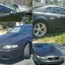 Black 04 Mustang Gt Mydippedwhips Gt Mustang Going Satin Black Mustang Gt Going