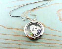 personalized locket necklace custom personalized memory locket with floating charms woobie beans