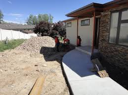 landscaping building a house
