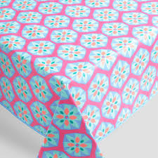 Outdoor Tablecloth With Hole For Umbrella by Green And Blue Esme Outdoor Tablecloth World Market
