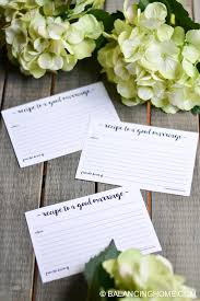 Marriage Advice Cards For Wedding Marriage Advice Printable Card For Wedding Shower Balancing Home