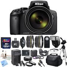 nikon coolpix p900 digital camera with 83x optical zoom and built