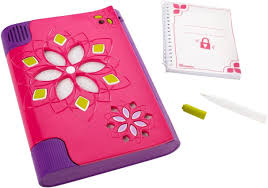 tween room decor toys my password journal with voice activated lock