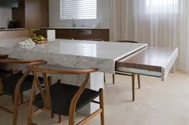 kitchen island tables kitchen islands with tables a simple but clever combo with