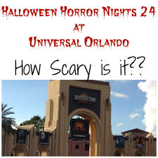 halloween horror nights how scary is it
