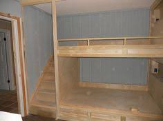 Built In Bunk Bed Diy Wall To Wall Built In Bunk Beds And A Room Remodel