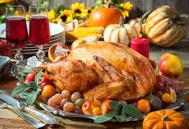 food menu programs celebrate thanksgiving grove menus