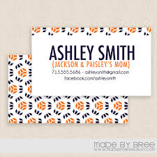 Can You Print Business Cards At Home Mommy Calling Cards Business Cards Breeze Crafty