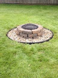 Firepit Lowes Pit Diy Project Less Than 100 Excludes Pit Bowl And