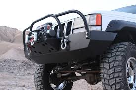 jeep grand xj rock 4x4 8482 bolt on winch plate with fairlead mount for