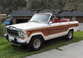 jeep grand wagoneer custom tommy s custom convertible 1986 jeep grand wagoneer bring a trailer