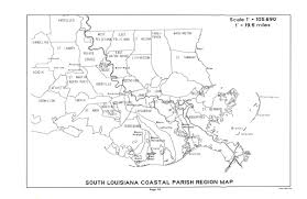 Map Of South Louisiana by Historical Text Archive Electronic History Resources Online