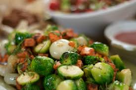 thanksgiving recipe butternut squash brussels sprouts and pearl