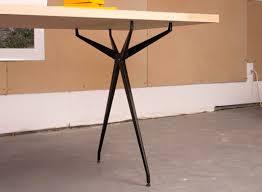 tables better living through design table legs desk work better living through design