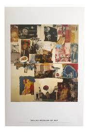 we love rauschenberg 1964 robert rauschenberg original offset lithograph print poster