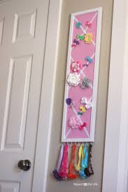 bow holder diy hair bow holder or message board repeat crafter me