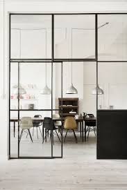 Wall Partition Ideas by Un Espacio De Trabajo Danés Glass Partition Sliding Door And Glass