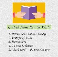 if book nerds ran the world 1 release dates national