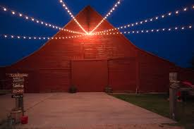 construction of a brand new barn wedding venue in north texas