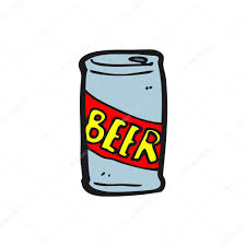 cartoon beer can of beer cartoon u2014 stock vector lineartestpilot 14921673