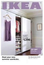 ikea wardrobe event flyer may 25 to june 15