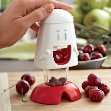 Fun Kitchen Gadgets Cherry Peeler With Fun And Modern Look Modern Kitchen Gadgets