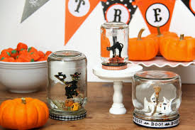 halloween glass jars 40 fun u0026 pretty diy snowglobes to make yourself