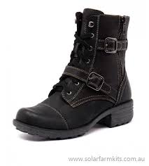 womens ankle boots nz buy s grunge black ankle boots by planet shoes