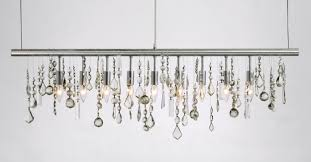 Types Of Chandelier Decorating Elegant Project With Stylish Linear Chandelier