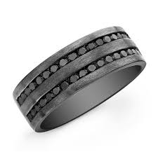 mens black diamond wedding band 10 best images about mens anniversary rings on diamond