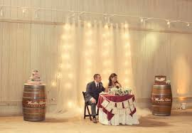 wedding backdrop tulle my country rustic wedding nutrition by shoshana