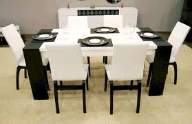 stunning black and white dining room sets ideas home design