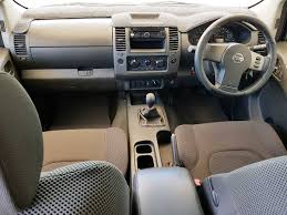 nissan turbo diesel nissan navara d40 st x dual cab 2007 white used vehicle sales