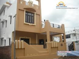 house front design indian style single floor single floor home