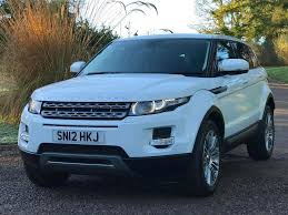 land rover range rover white land rover range rover evoque 2 2 td4 pure 5dr white 2012 in