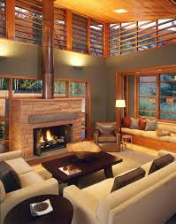 Living Room Colors Oak Trim Architecture In Aspen Stunning Multi Levelled Home Is A Stones