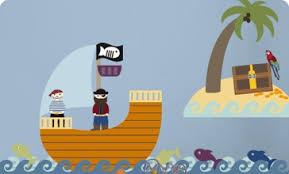 kinderzimmer pirat kinderzimmer piratwandgestaltung cabiralan