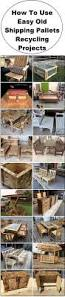 Furniture Recycling by How To Use Easy Old Shipping Pallets Recycling Projects I Love2make