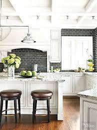 subway tiles kitchen open wood shelves wooden white tile pinterest