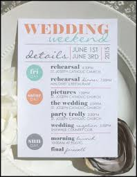 wedding itinerary for guests unique wedding itinerary corner cinema