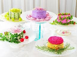 cuisine japonaise calories le salad cake le gâteau japonais sans calories biba
