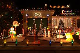 the most blinding christmas decorations on the internet business