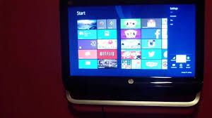 wall mounted hp omni 120 1333w all in one desktop 20 youtube