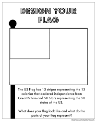 Printable Flags Free 4th Of July Printables Design A Flag U0026 More