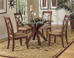 Glass Top Round Dining Tables by Fashionable Decorate For 48 Inch Round Dining Table