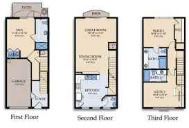 Orange County Convention Center Floor Plan Vista Cay Orlando 3 Bedroom 3 Quartos Townhome Vc122