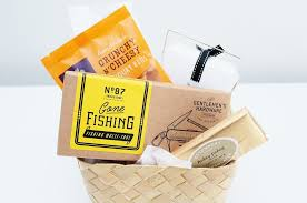 Fishing Gift Basket Funky Gifts For Him Unique Birthday Gifts Ideas For Men The