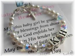 baby personalized jewelry addictivejewelry baby baptism jewelry communion jewelry
