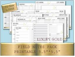 two page weekly planner template bullet journal printable template midori field notes notebook zoom